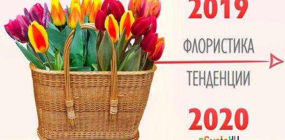ФЛОРИСТИКА & ТЕНДЕНЦИИ 2019 – 2020