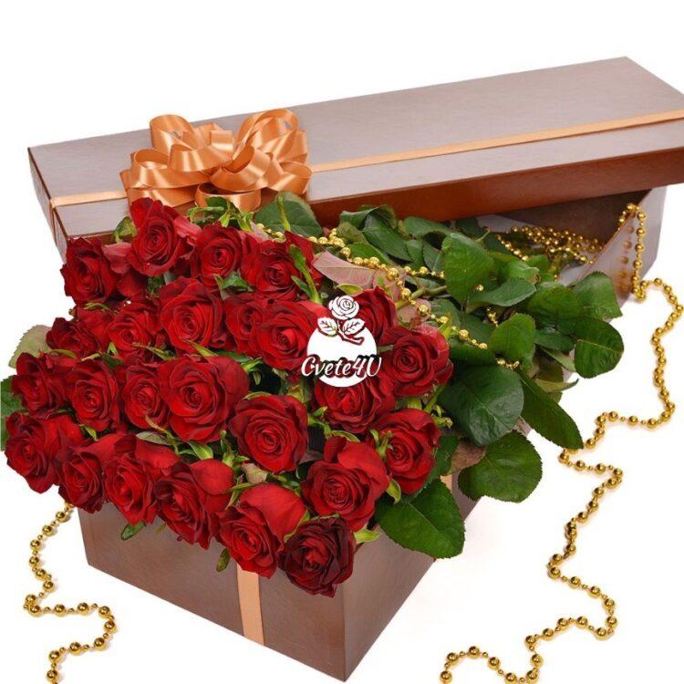 Красив романс - Цветя в кутия