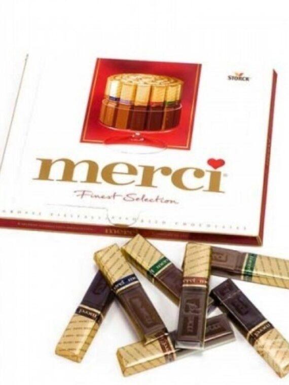 "Шоколадови бонбони ""Merci"" 250 g"