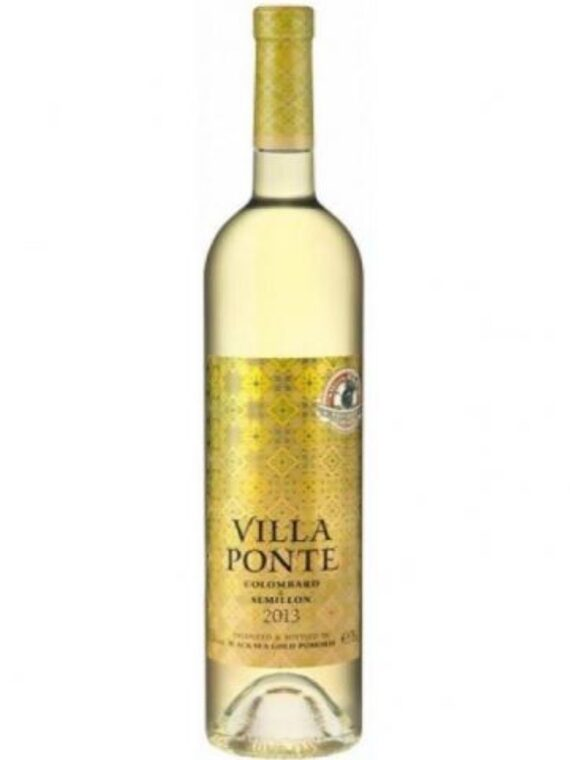Вино Поморие, Villa Ponte, 750мл, Коломбар и Семийон