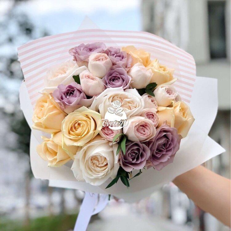 """Букет """"Албена"""", най – романтичните рози в един букет."""