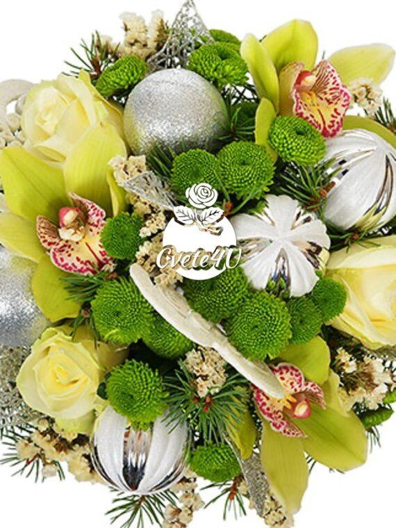 Цветя в кутия Снежанка