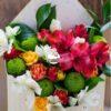 Писмо за нея - цветя в писмо