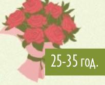Класически варианти на ярки букети с еднороден състав на цветята.