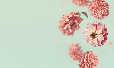 Цветя за него
